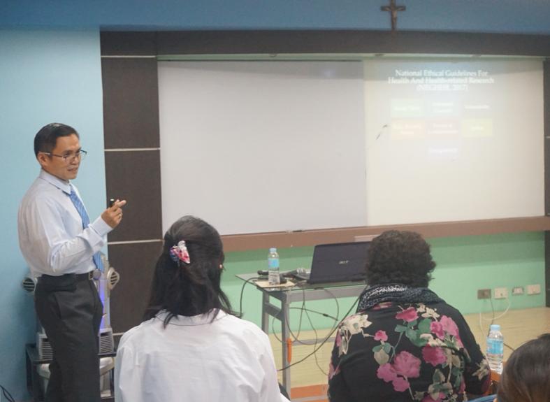 MMHRDC, OVRRI host Good Clinical Practice Workshop