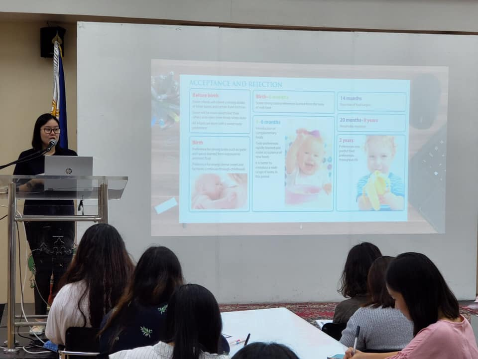 UST Occupational Therapy Department holds seminar-workshop on Feeding Assessment, Intervention for Pediatric Therapists