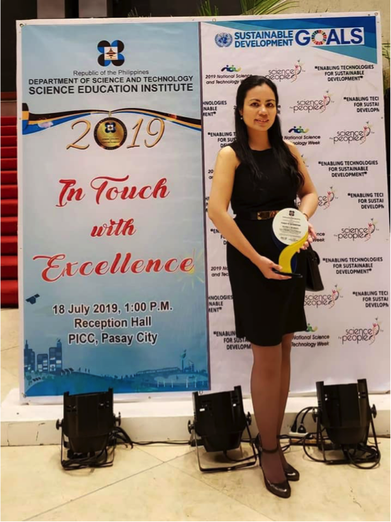 Belmonte of Chem. Eng'g., RCNAS feted as one of DOST-SEI's outstanding scholar-graduates