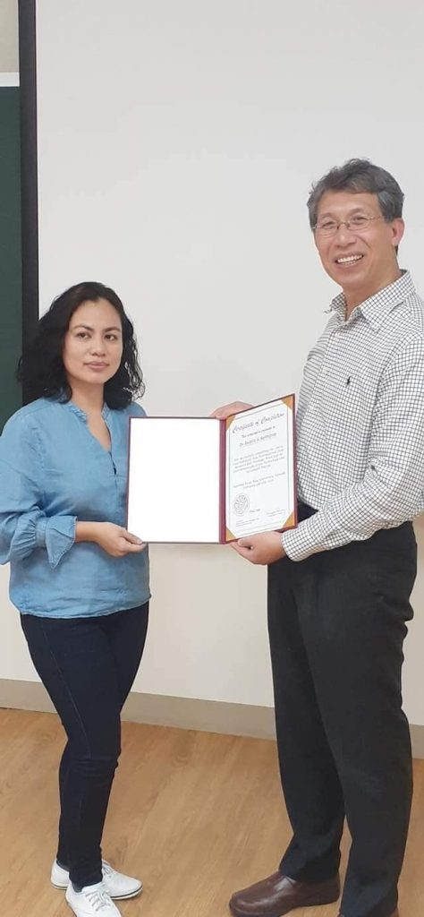 Belmonte of Chem. Eng'g., RCNAS joins SEA Int'l. and Joint Research Workshop