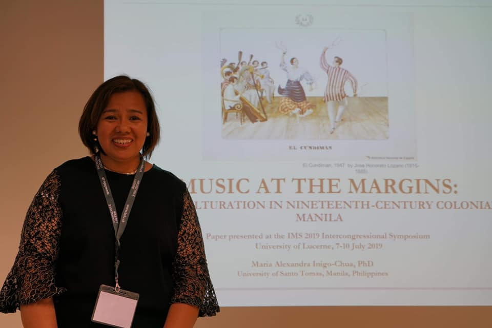 Iñigo-Chua of Music, RCCAH presents paper on transculturation of music in 19th-century Manila in Switzerland conference