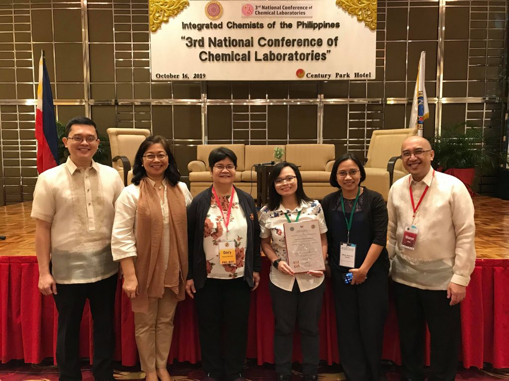 UST Analytical Services Laboratory is first Philippine university to receive certification from board of chemistry