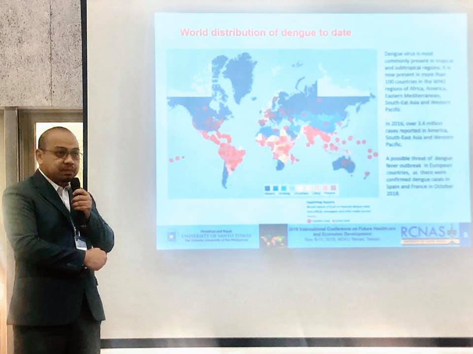 Albano of Chemistry, RCNAS talks about dengue trends in the Philippines