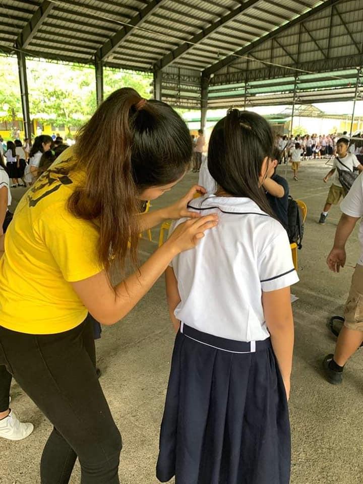 CRS screens 1,415 grade school pupils of Nueva Ecija for Scoliosis