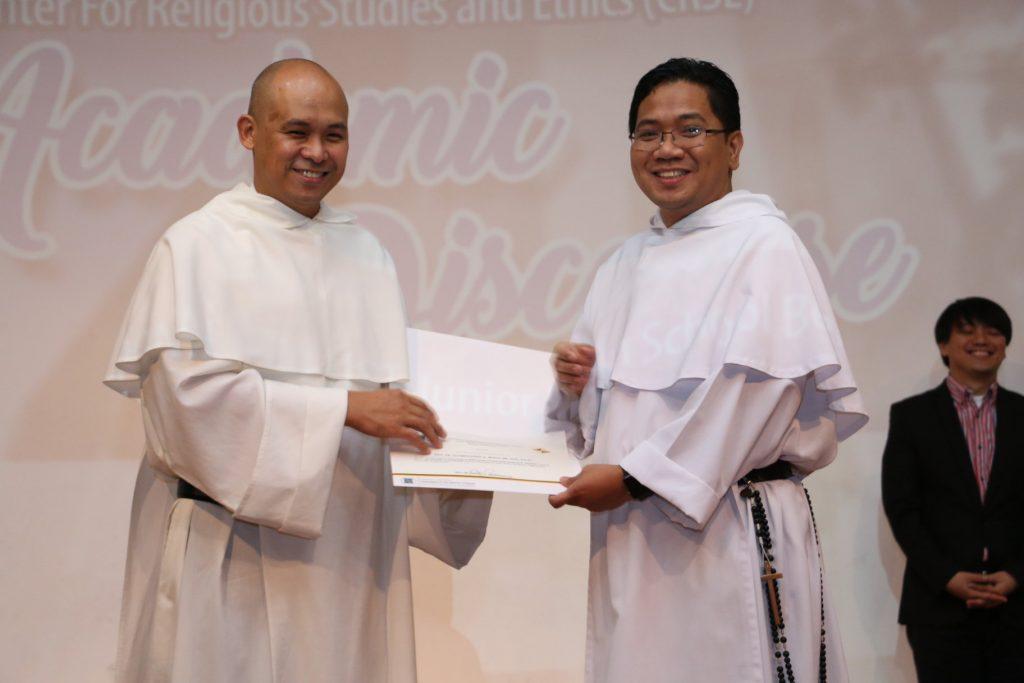 Fr. Bolo, Basas, Sagut speak in inaugural CRSE Academic Discourse