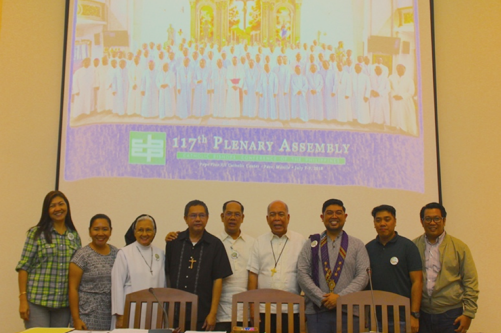UST NCS Research Team presents result of study on current state of catechetical ministry in the Philippines