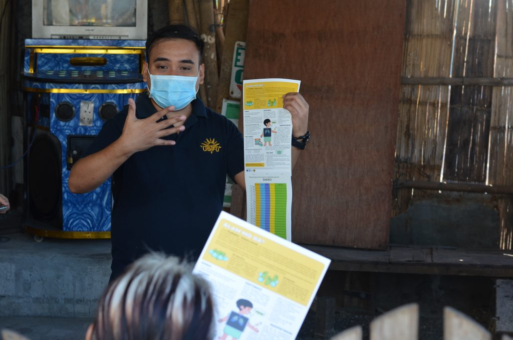 RCSSEd's Pediatric Tuberculosis information drive in Baseco, Payatas, Bagong Silangan receives 2nd-place prize in NRCP poster competition