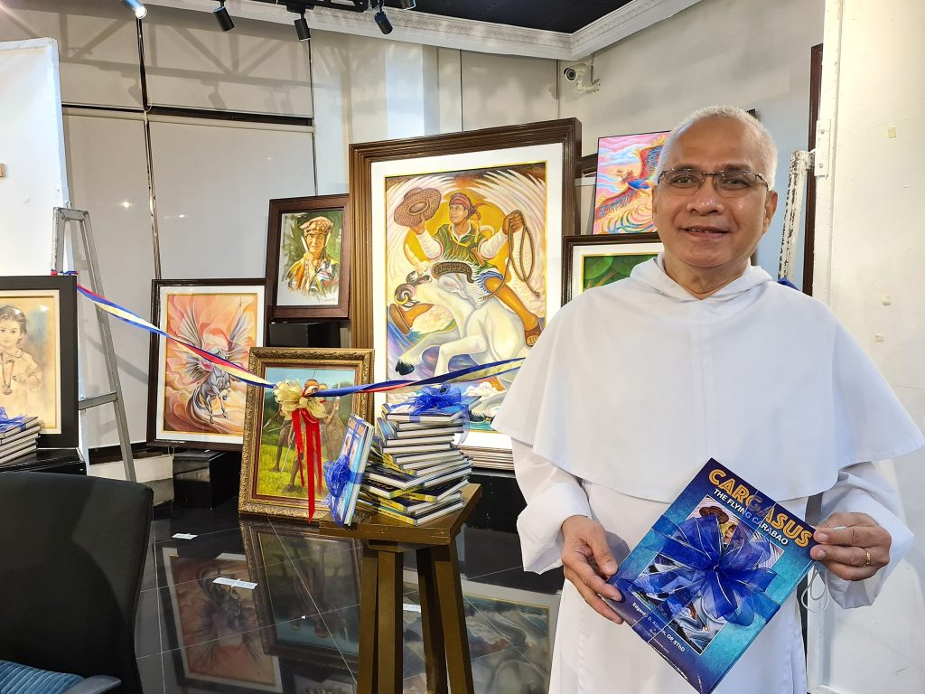 Fr. Alaurin of CFAD, Theology launches Cargasus book