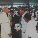 UST 19810218 Papal Visit - John Paul II, Frederik Fermin