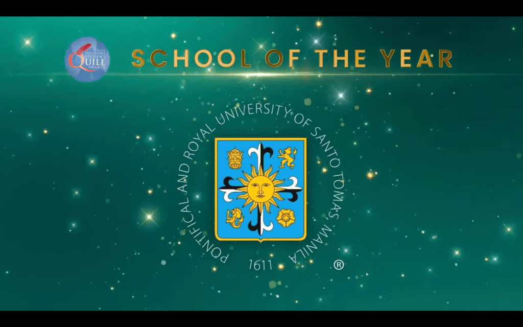 UST claims 21 awards in 2021 PH Quill, named School of the Year for the 7th time
