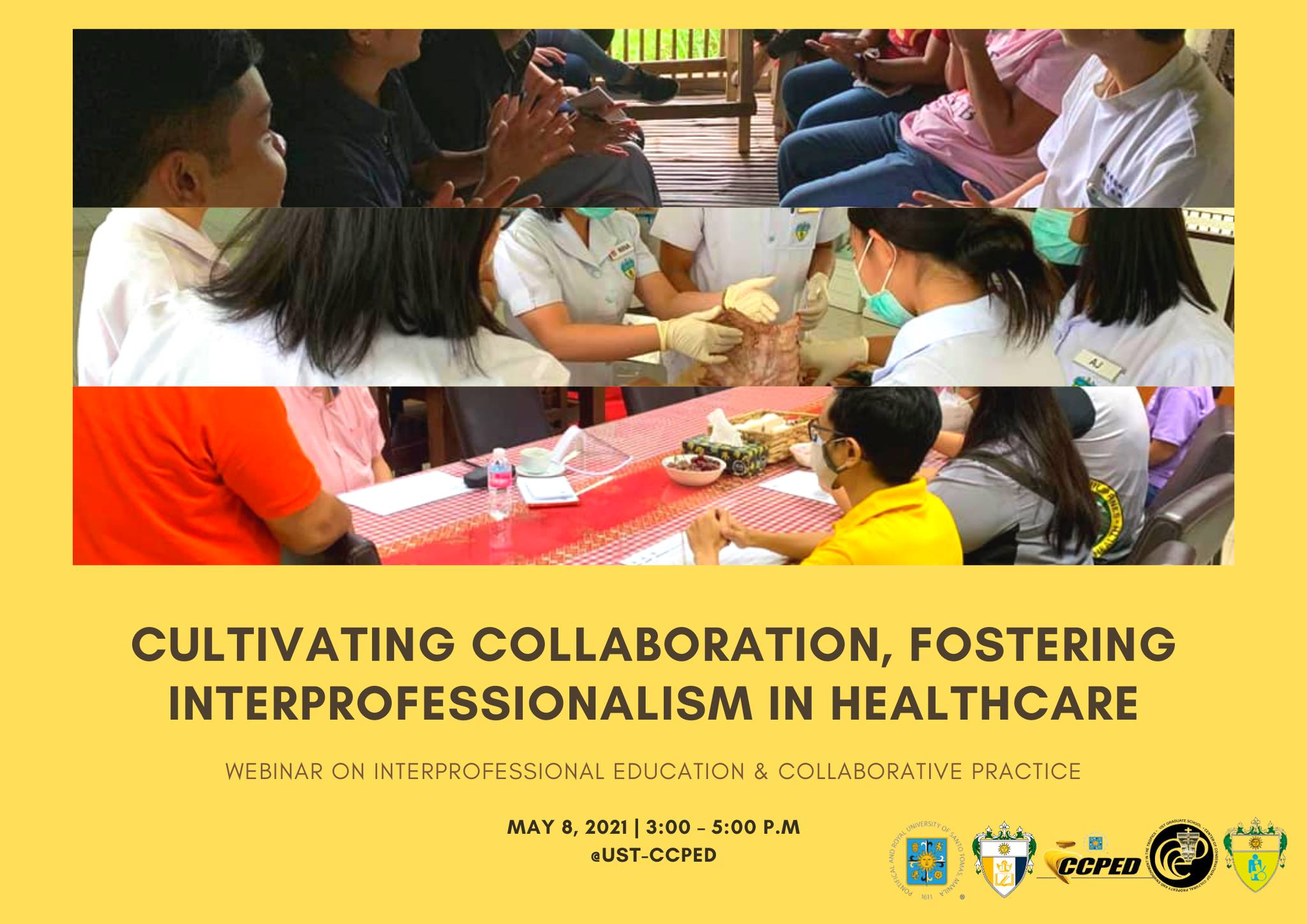 Cultivating Collaboration, Fostering Interprofessionalism in Healthcare: A Webinar on Interprofessional Education & Collaborative Practice