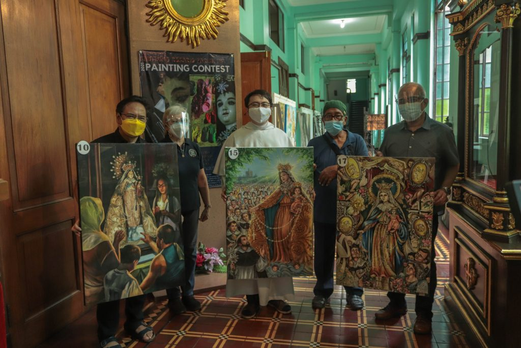 Santísimo Rosario Parish holds painting contest and exhibition in celebration of its 79th anniversary